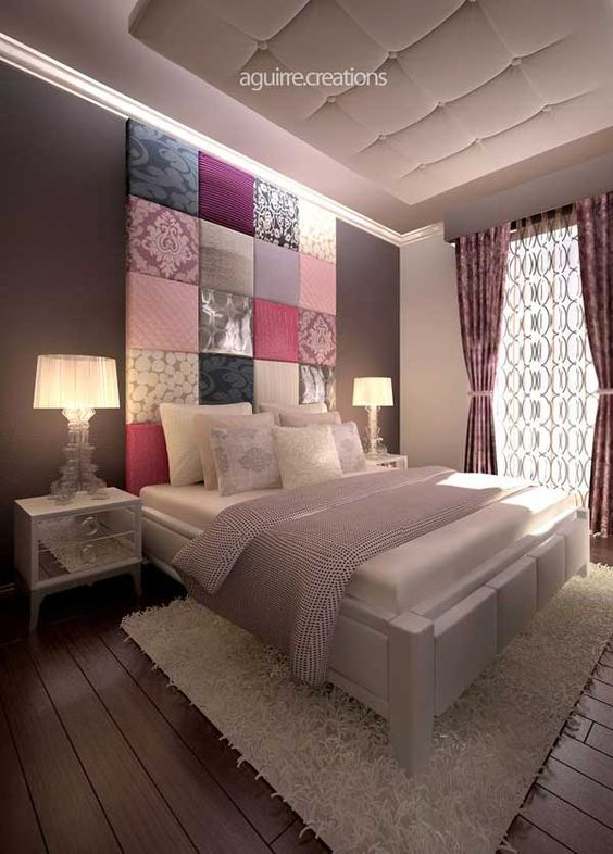 Ambientes de charme decora o de interiores by claudia for Nice bedrooms for adults